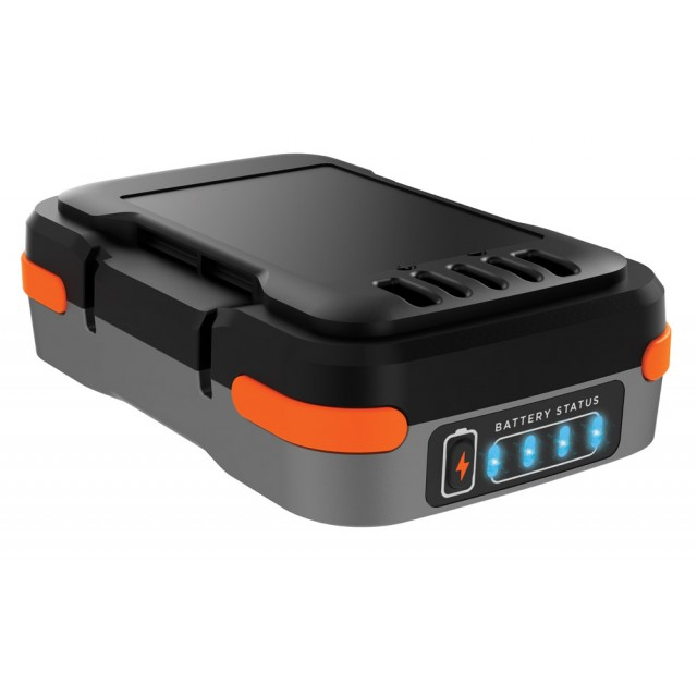 Batteria Litio 12V 1.5ah Black Decker USB Power Bank Ricaricabile Caricabatterie