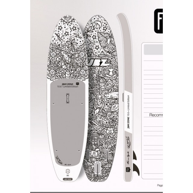 Tavola Sup Gonfiabile Board Touring Surf Stand Up Paddle Pompa Pagaia Kayak Mare